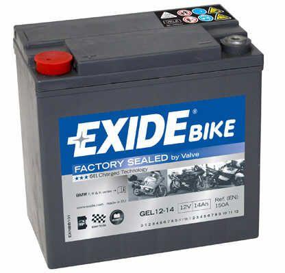 Baterie Exide 12V 14Ah GEL12-14, EXIDE