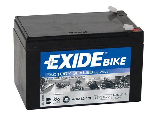 Baterie Exide 12V 12Ah AGM12-12F, EXIDE
