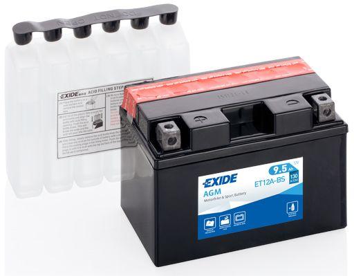 Baterie Exide 12V 9,5Ah ET12A-BS, EXIDE