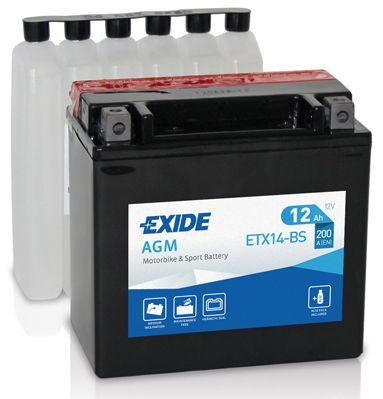 Baterie Exide 12V 12Ah ETX14-BS, EXIDE