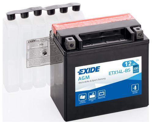 Baterie Exide 12V 12Ah ETX14L-BS, EXIDE
