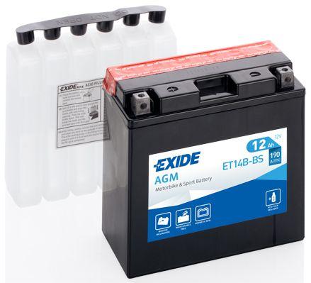 Baterie Exide 12V 12Ah ET14B-BS, EXIDE