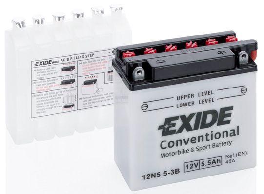 Baterie Exide 12V 5,5Ah 12N5,5-3B, EXIDE