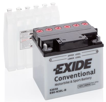 Baterie Exide 12V 30Ah E60-N30L-B, EXIDE