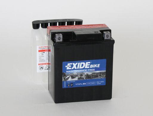 Baterie Exide 12V 6Ah ETX7L-BS, EXIDE