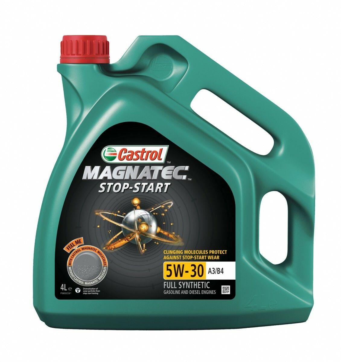 Motorový olej Castrol MAGNATEC STOP-START 4L, 5W30 A3/B4