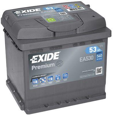 Baterie Exide 12V 53Ah EA530, EXIDE