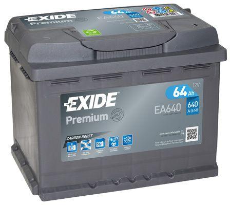 Baterie Exide 12V 64Ah EA640, EXIDE