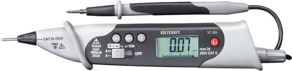 Digitální multimetr Pentype Voltcraft VC-86, 3 roky záruka