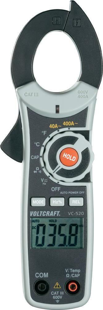 Mini klešťový multimetr Voltcraft VC-520, AC, 3 roky záruka
