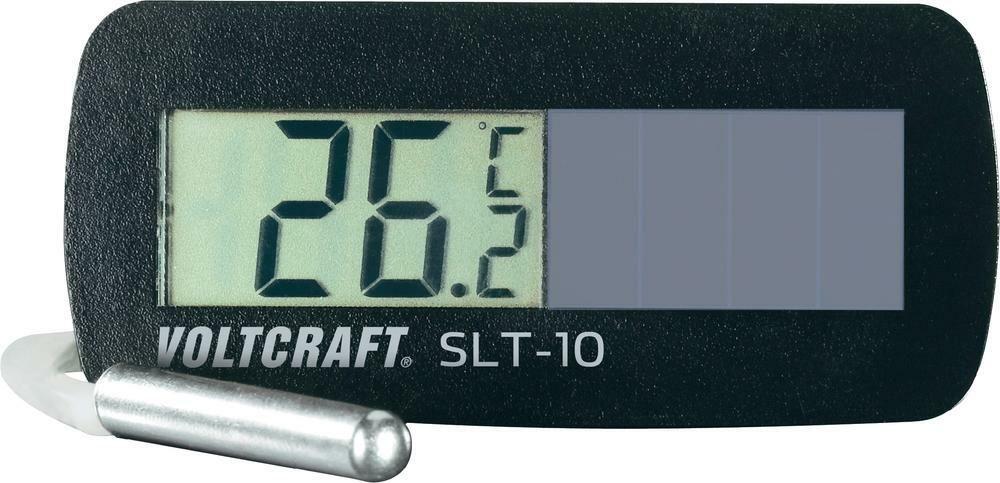 Solární vestavný teploměr Voltcraft SLT-10, 3 roky záruka