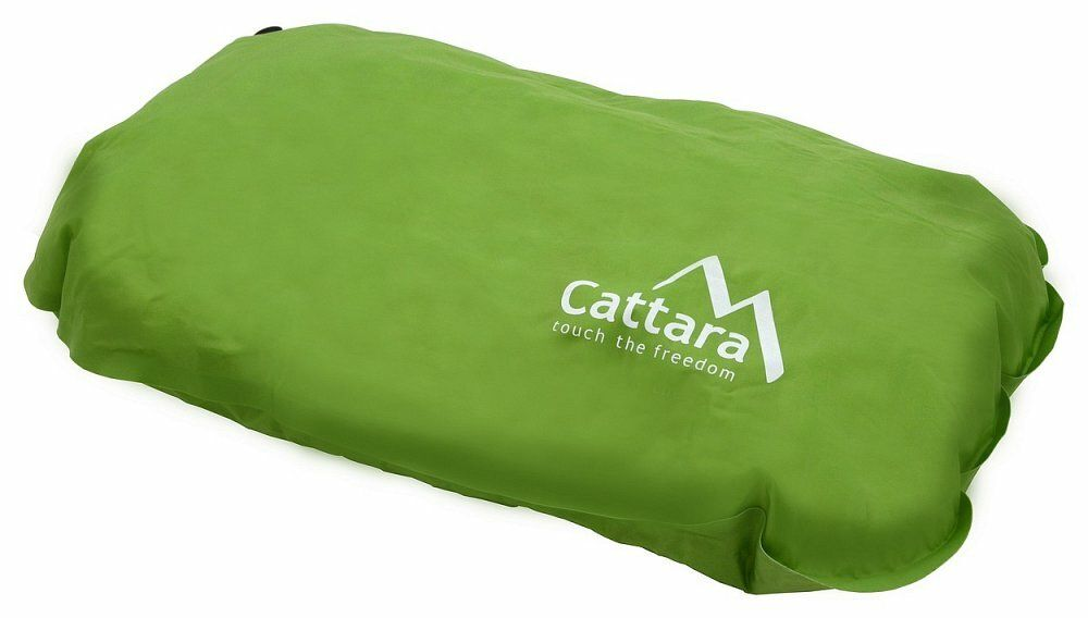 Polštář samonafukovací 50x30x13cm zelený, CATTARA