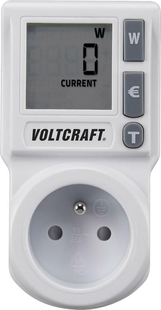 Měřič spotřeby elektrické energie Voltcraft EM 1000Basic, 3 roky záruka