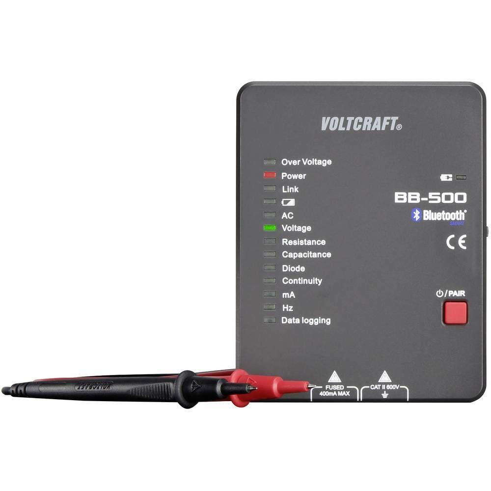 Digitálny multimetr VOLTCRAFT BB-500 CAT II 600 V, datalogger