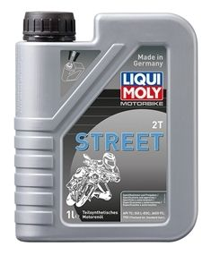 Motocyklový olej Liqui Moly Motorbike 2T Street 1L