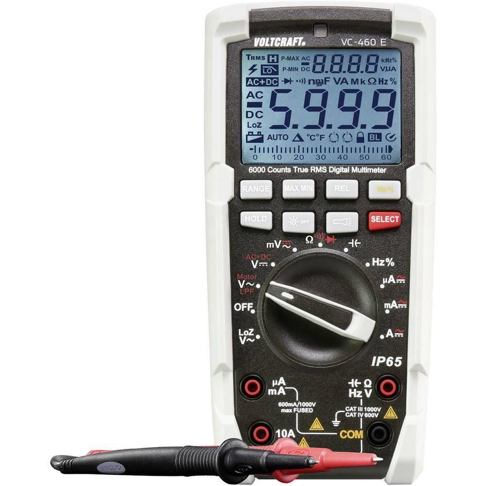 Digitální multimetr VOLTCRAFT VC-460 E DMM (K) 1590172, Kalibrováno dle ISO, oc