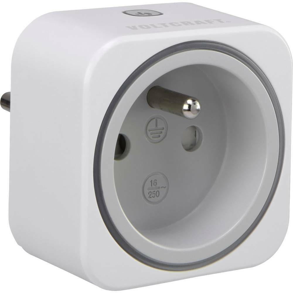 Zásuvkový měřič spotřeby el. energie a spínací zásuvka 2v1 VOLTCRAFT SEM6000 FR