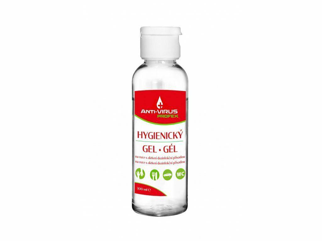PROFEX Anti-VIRUS Hygienický gel na ruce 100 ml, vůně Aloe Vera