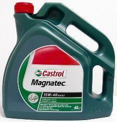 Motorový olej Castrol MAGNATEC 15W40 A3/B4 4L