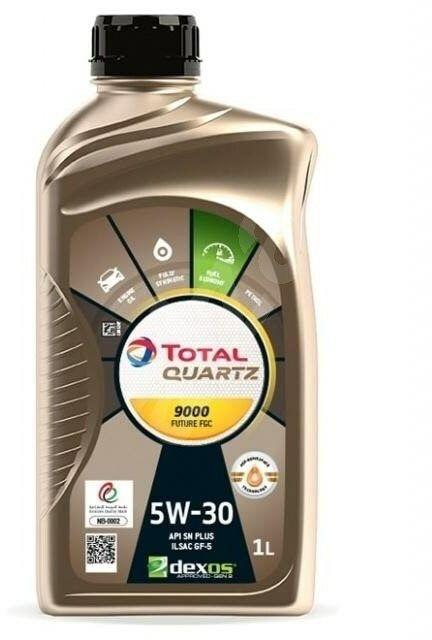 TOTAL QUARTZ 9000 NFC 5W30 1l