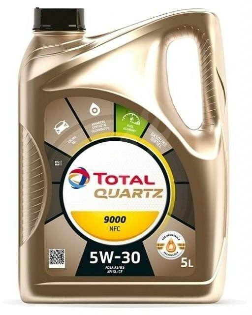 TOTAL QUARTZ 9000 NFC 5W30 - 5l
