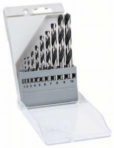 Vrtáky do kovu Twist Speed 10ks Set - 3165140917667