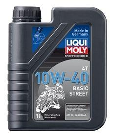 Motocyklový olej Liqui Moly Motorbike 4T 10W40 Basic Street 1L