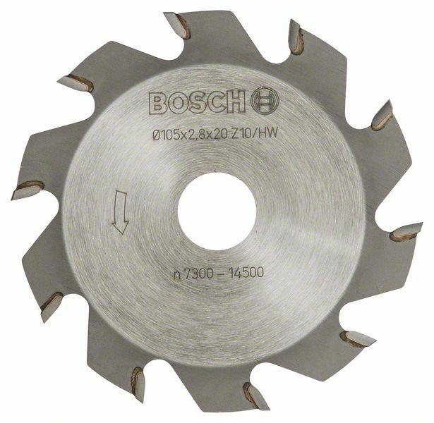 Kotoučová fréza - 10, 20 mm, 2,8 mm - 3165140012546