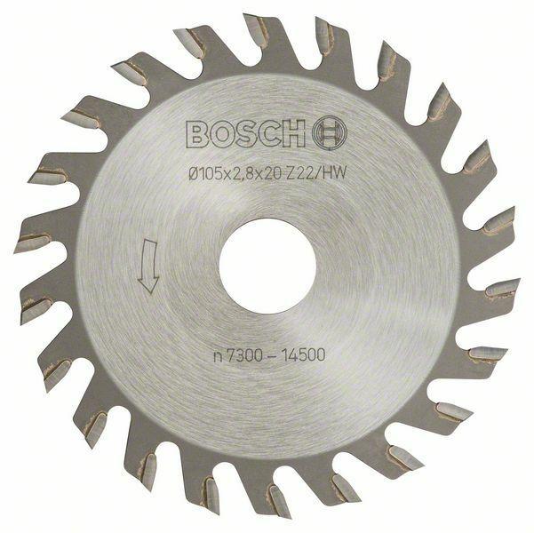 Kotoučová fréza - 22, 20 mm, 2,8 mm - 3165140012560