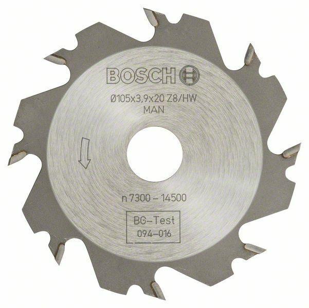 Kotoučová fréza - 8, 20 mm, 4 mm - 3165140013802