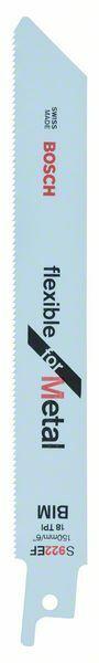Pilový plátek do pily ocasky S 922 EF - Flexible for Metal