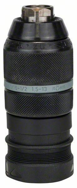 Rychloupínací sklíčidlo s adaptérem - 1,5-13 mm, SDS-plus - 3165140127608