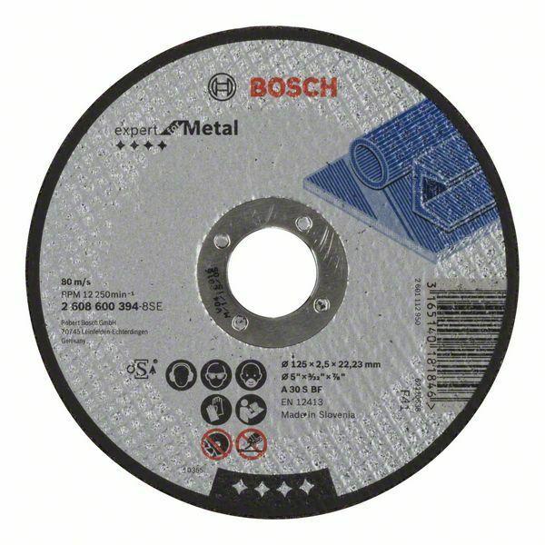 Dělicí kotouč rovný Expert for Metal - A 30 S BF, 125 mm, 2,5 mm