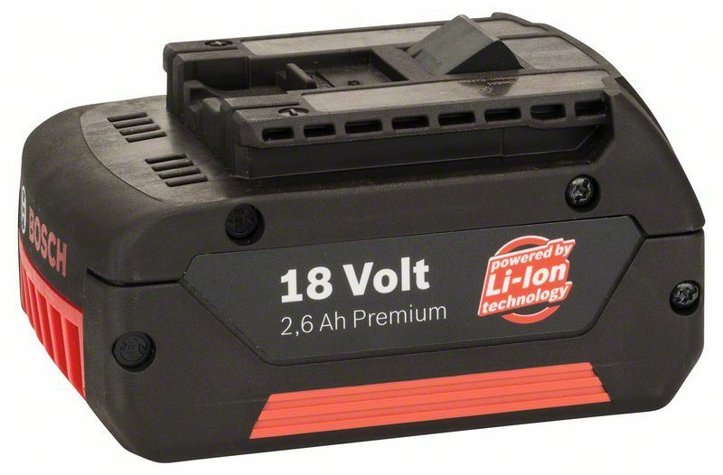 Zásuvný akumulátor 18 V - HD, 2,6 Ah, Li Ion - 3165140480895