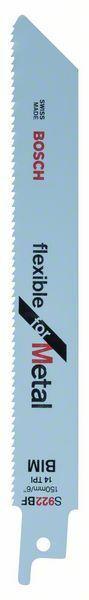 Pilový plátek do pily ocasky S 922 BF - Flexible for Metal - 3165140515184