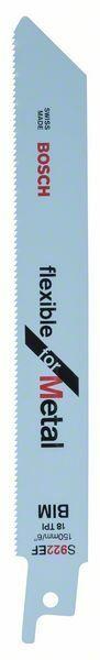 Pilový plátek do pily ocasky S 922 EF - Flexible for Metal - 3165140515191