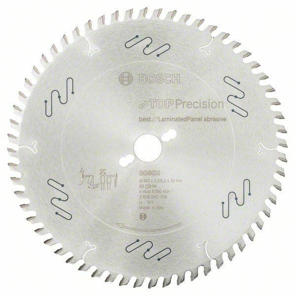 Pilový kotouč do okružních pil Top Precision Best for Laminated Panel Abrasive - 303 x 30