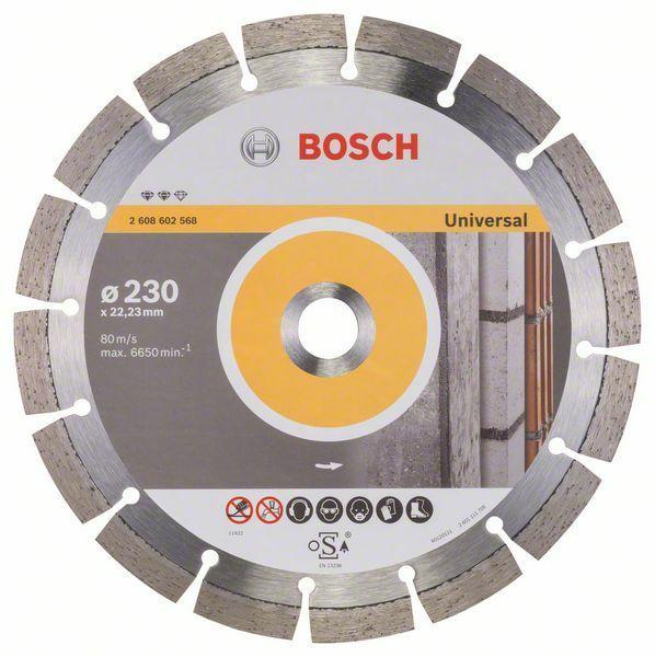 Diamantový dělicí kotouč Expert for Universal - 230 x 22,23 x 2,4 x 12 mm