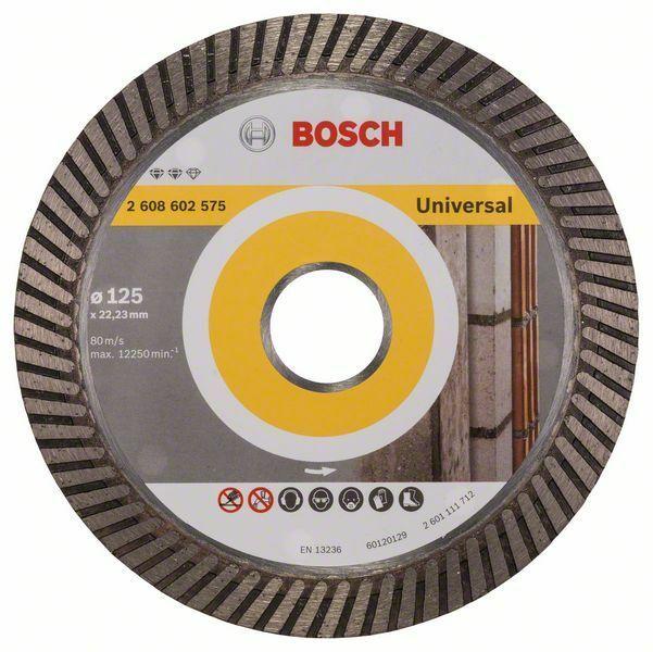 Diamantový dělicí kotouč Expert for Universal Turbo - 125 x 22,23 x 2,2 x 12 mm - 31651405
