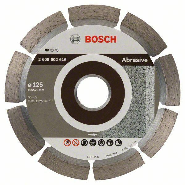 Diamantový dělicí kotouč Standard for Abrasive - 125 x 22,23 x 6 x 7 mm - 3165140581226