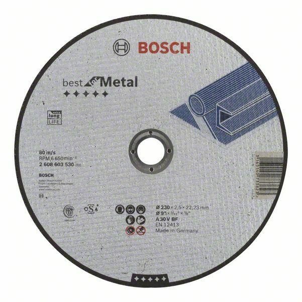 Dělicí kotouč rovný Best for Metal - A 30 V BF, 230 mm, 2,5 mm