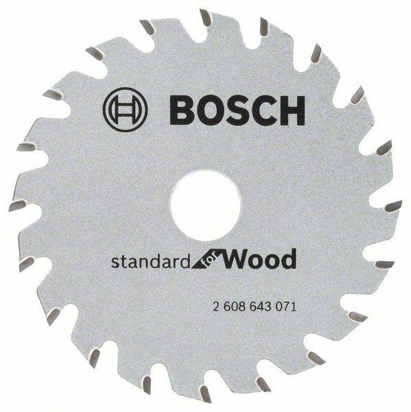 Pilový kotouč Standard for Wood 85x15x1,1/0.7mm 20z pro GKS 10.8 V-LI - 3165140754279
