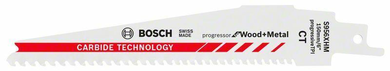Pilový list do pily ocasky S 956 XHM; Progressor for Wood + Metal - 3165140772976