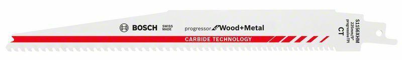 Pilový list do pily ocasky S 1156 XHM; Progressor for Wood + Metal - 3165140772983