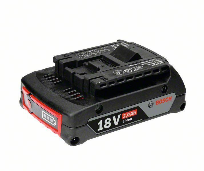 Zásuvný akumulátor GBA 18V 2,0Ah M-B; SD, 2,0 Ah, Li Ion - 3165140801348