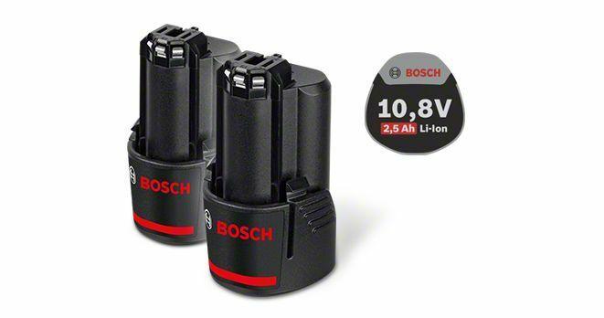 Zásuvný akumulátor 10,8 V - Standard Duty (SD), 2,5 Ah, Li-Ion, GBA - 3165140837842