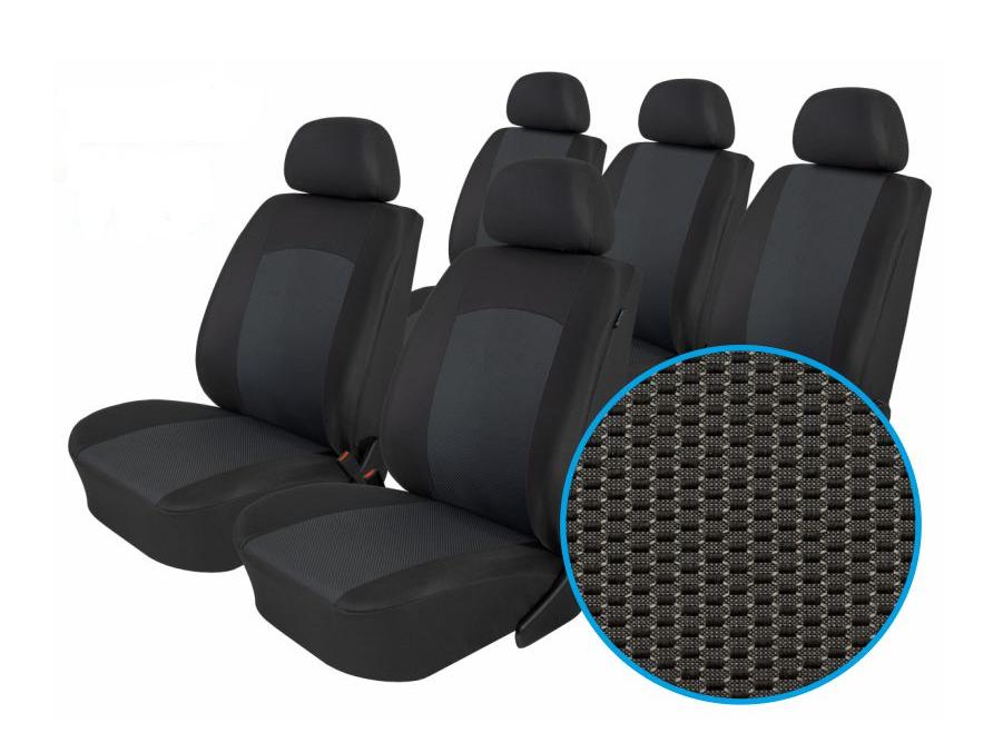 Autopotahy Ford Galaxy III, S MAX I od r. 2006-2015, 5 míst, Dynamic grafit