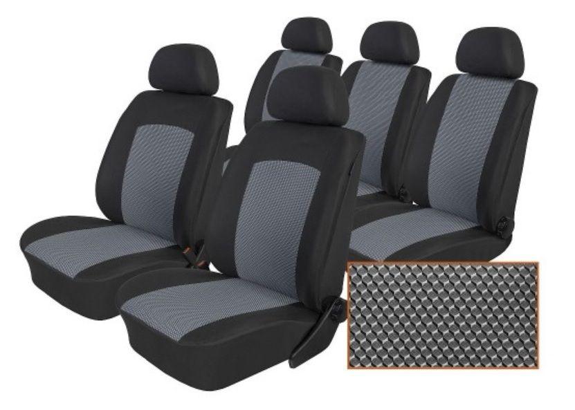 Autopotahy Ford Galaxy III, S MAX I od r. 2006-2015, 5 míst, Dynamic šedé