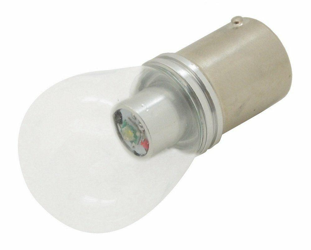 Žárovka 1 SMD LED 6chips 12V Ba15s CAN-BUS ready bílá 1ks, COMPASS