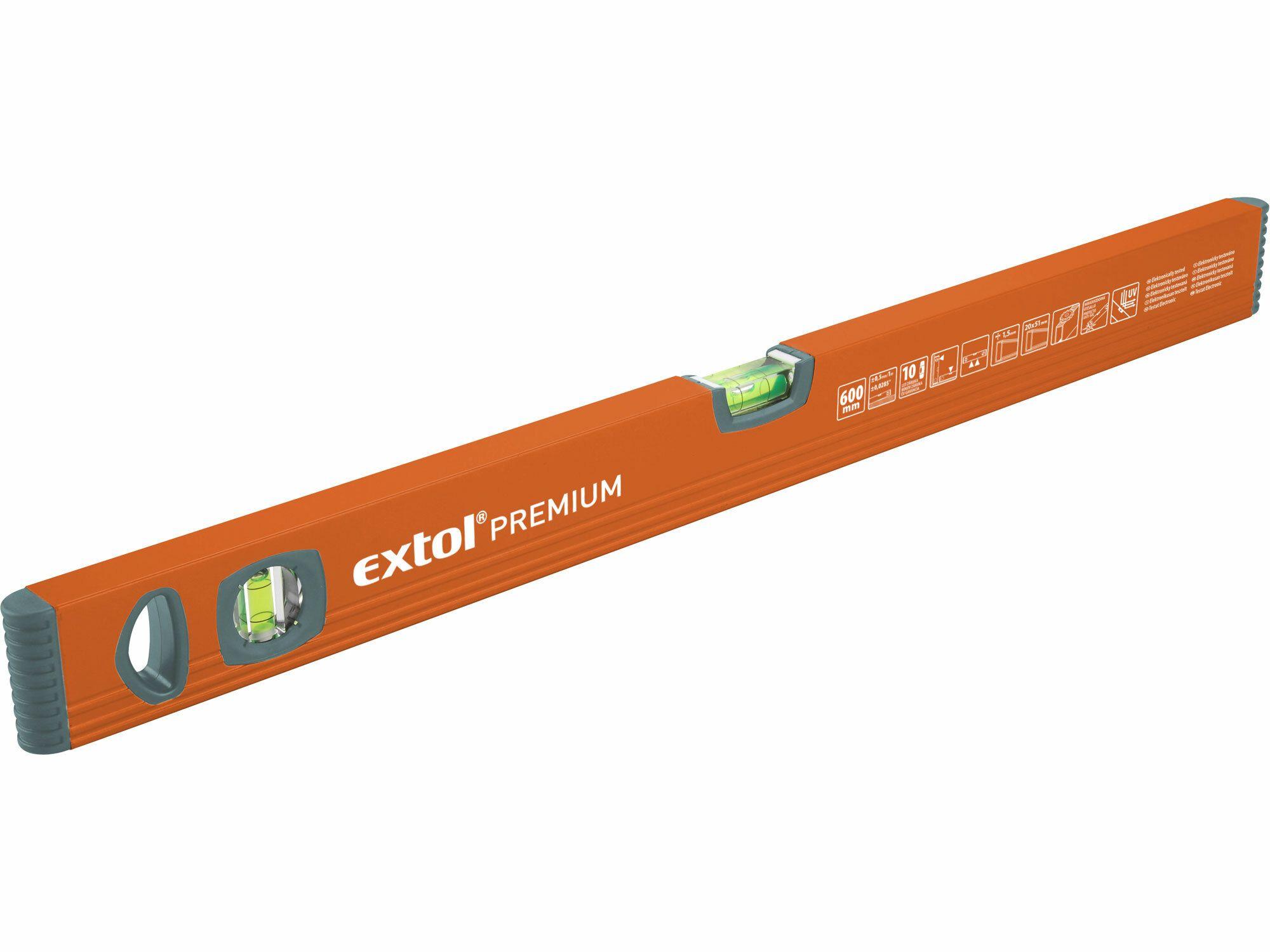 Vodováha, 1800mm, EXTOL PREMIUM